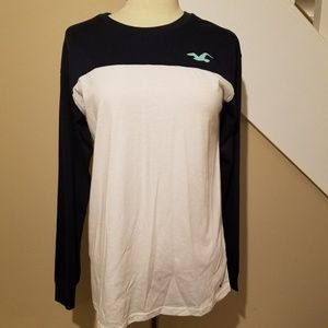 Hollister XS Long Sleeve Tee Shirt NWT